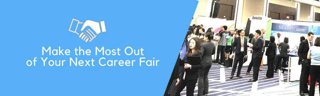 Make the Most Out of Your next career fair - networking picture of international students from all countries