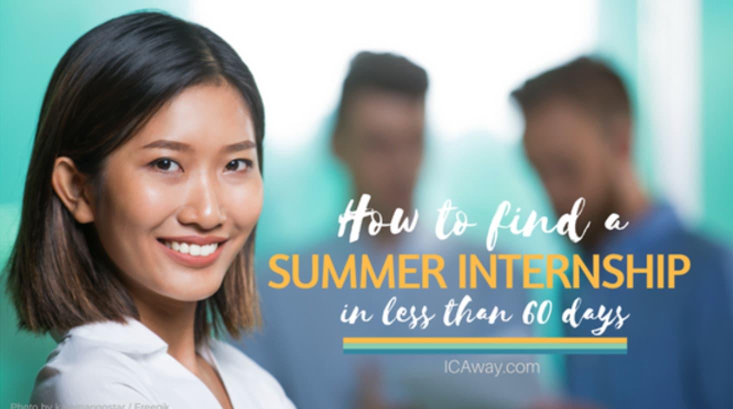 ICAway-Summer-Internship